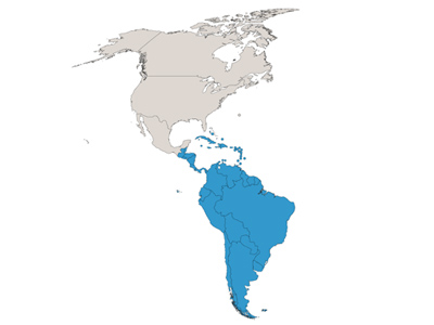 South America & The Carribean